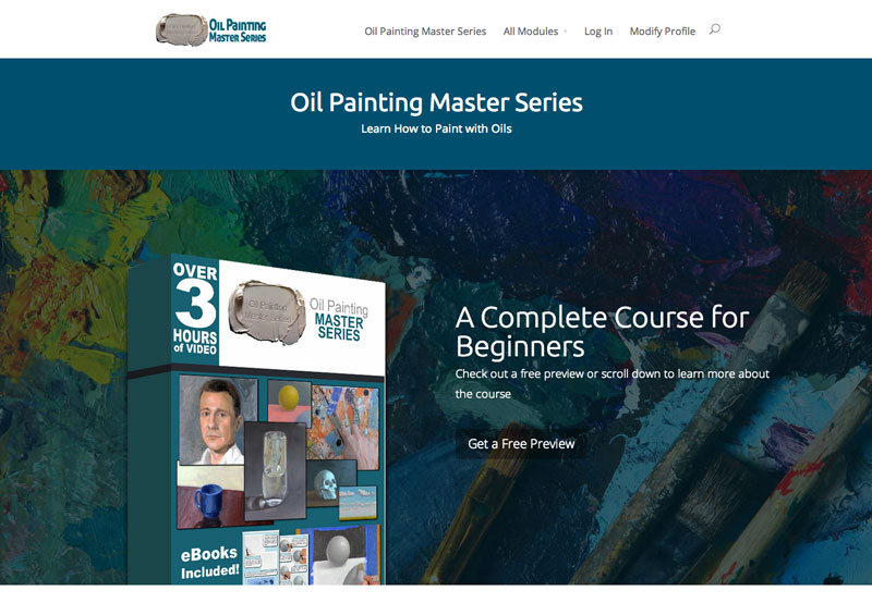 Oil Painting Master Series